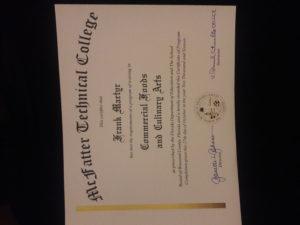 culinary-certificate